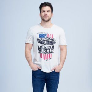 Seven7 American Muscle Tee Size L NWOT
